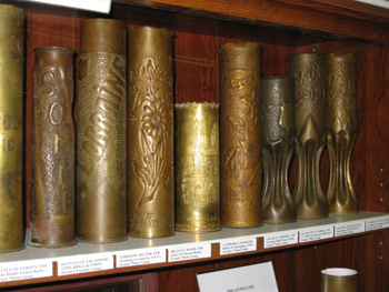 GI Junk - Trench Art Artillery Casings from WWI